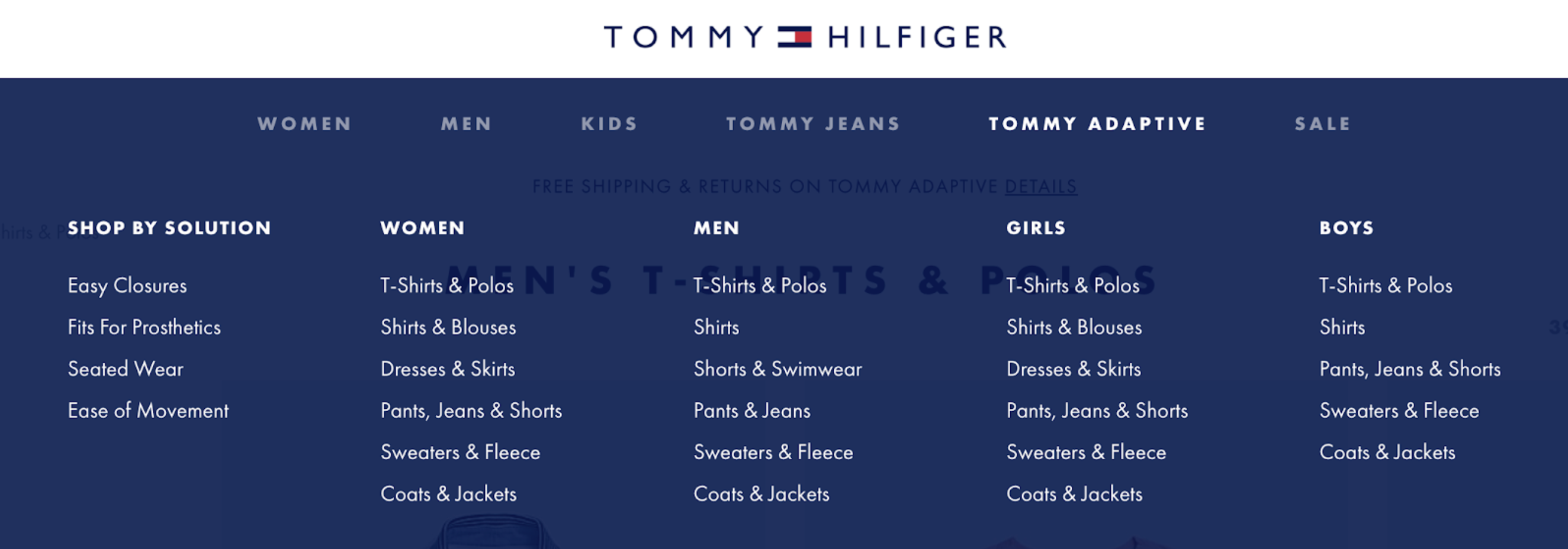 Tommy Adaptative
