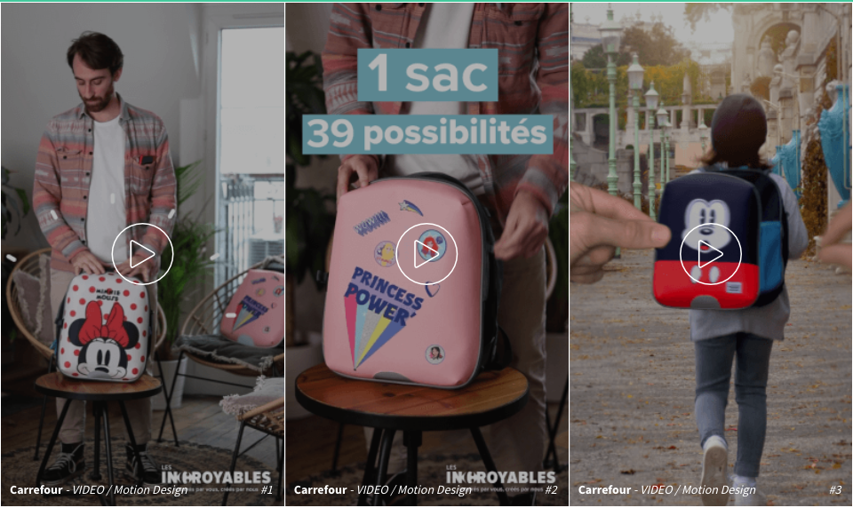 Exemple campagne carrefour the source