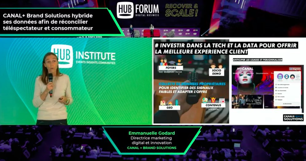 Canal plus au HUBFORUM 2020