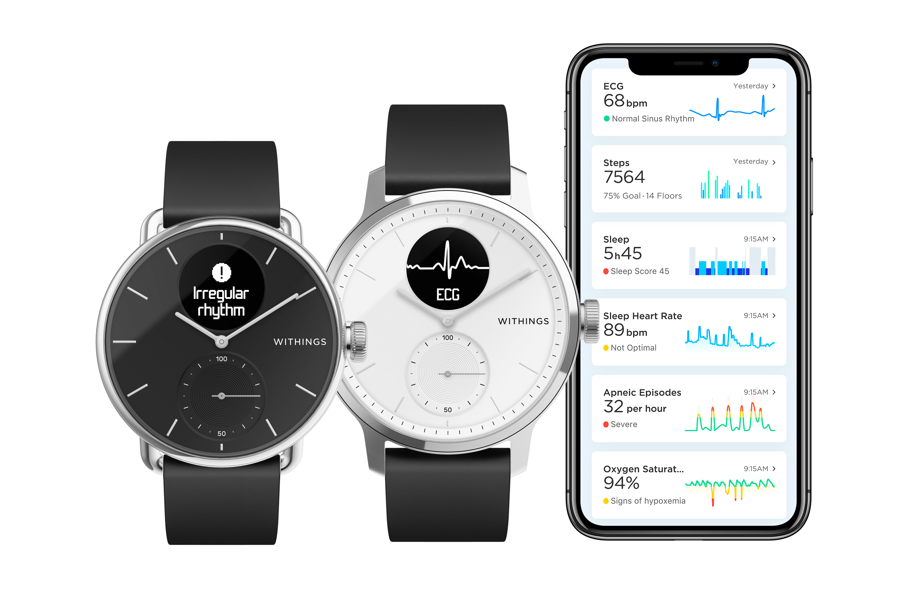 Scanwatch withings