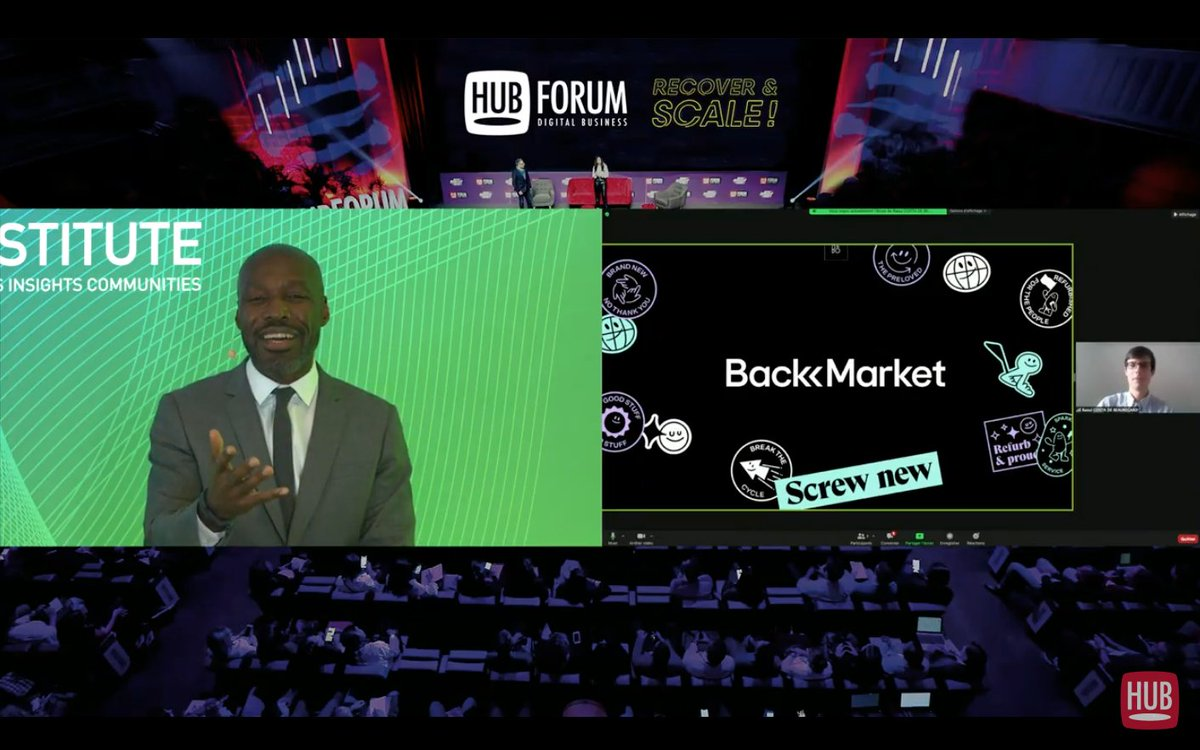 Back Market au HUBFORUM 2020