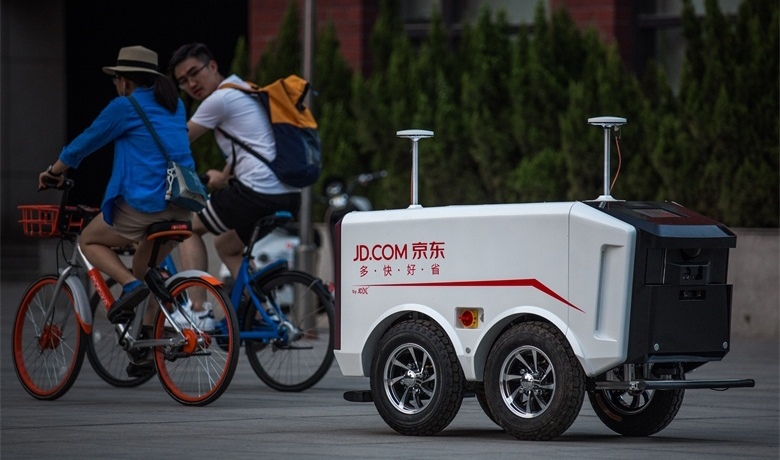 JD.com-vehiculeautonome-smartcar-china-delivery-retail