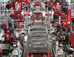 L'usine Tesla en californie