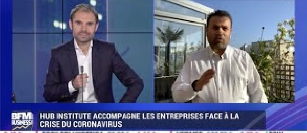 Vincent Ducrey interviewé sur BFM Business